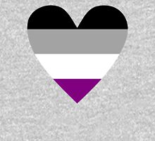 Asexual heart Unisex T-Shirt