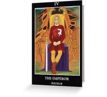 The Emperor - Arthur Greeting Card