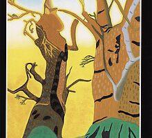 Strength - Gog and Magog by Lisa Tenzin-Dolma