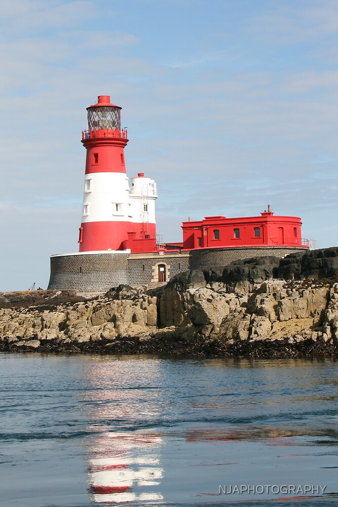 lighthouse on the farne islands by NJAPHOTOGRAPHY