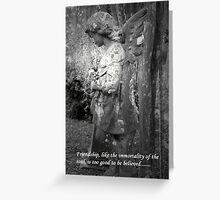 Cemetery Friend Greeting Card