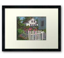 Come into the Garden Framed Print