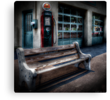 The gas station Canvas Print