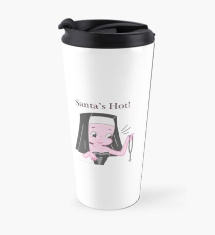 Santa's Hot! Travel Mug