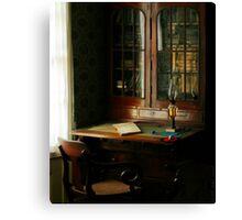 The Study Canvas Print