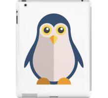 Cute cartoon penguin standing iPad Case/Skin