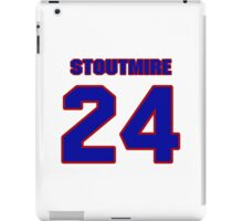National football player Omar Stoutmire jersey 24 iPad Case/Skin