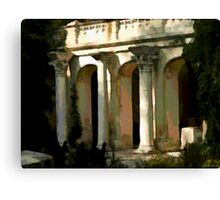 Greek Villa in Chersonesus Canvas Print