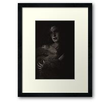 Madonna in fur Framed Print