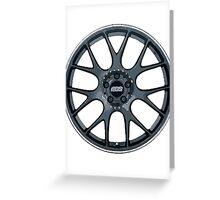 BBS Rims Wheels  Greeting Card