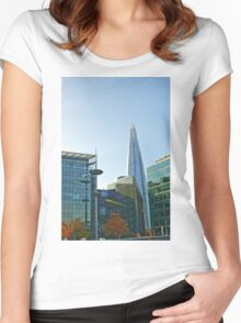 The Shard London Women's Fitted Scoop T-Shirt