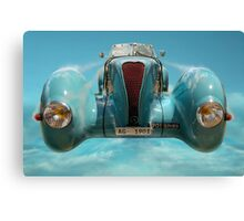 Vintage Sky Car Canvas Print