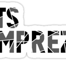 That's Imprezive! Sticker