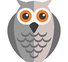 Friendly cartoon owl by berlinrob