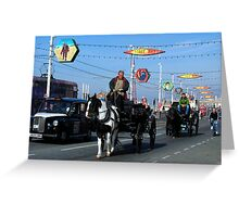 What transport will you take???? Greeting Card