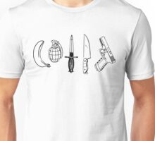 Scary Movie Weapons Unisex T-Shirt
