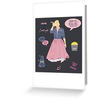 Rose Tyler Greeting Card