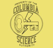 Columbia Science Authority (black) Kids Clothes