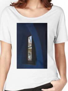 Whimsical, Fanciful Antoni Gaudi - Inside and Outside Women's Relaxed Fit T-Shirt