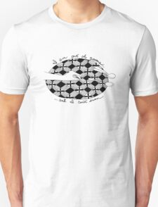Out of Spoons - Black T-Shirt