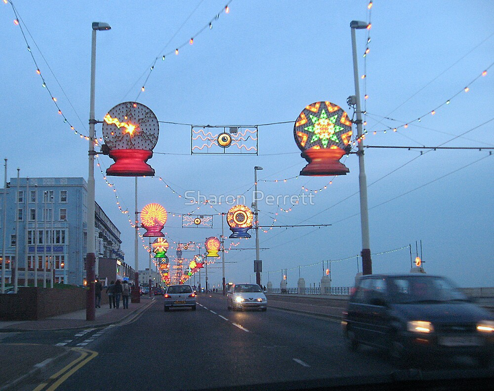Blackpool Lights - 4 by Sharon Perrett