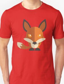 Friendly cartoon fox Unisex T-Shirt