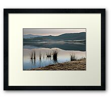 Winter landscape #2 Framed Print