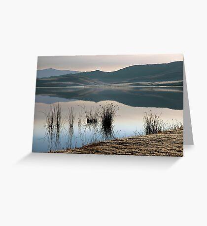 Winter landscape #2 Greeting Card