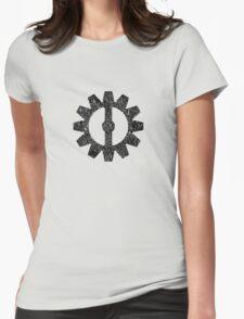 Mechanist Flag Womens Fitted T-Shirt
