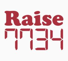 "Calculator ""Raise Hell"" by Tee Brain Creative"