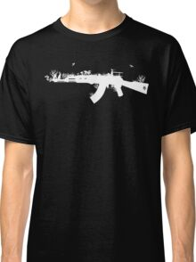 Ak47 Love & Peace (black) Classic T-Shirt