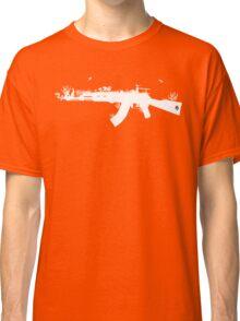 Ak47 Love & Peace (black) Classic T-Shirt