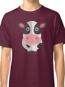Funny cartoon cow Classic T-Shirt