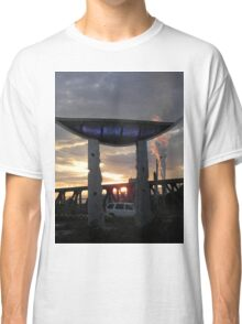 Memory Vessel As The Sun Sets Classic T-Shirt