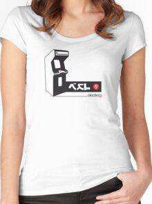 ...Insert Coin Women's Fitted Scoop T-Shirt