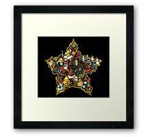 War of stars  Framed Print