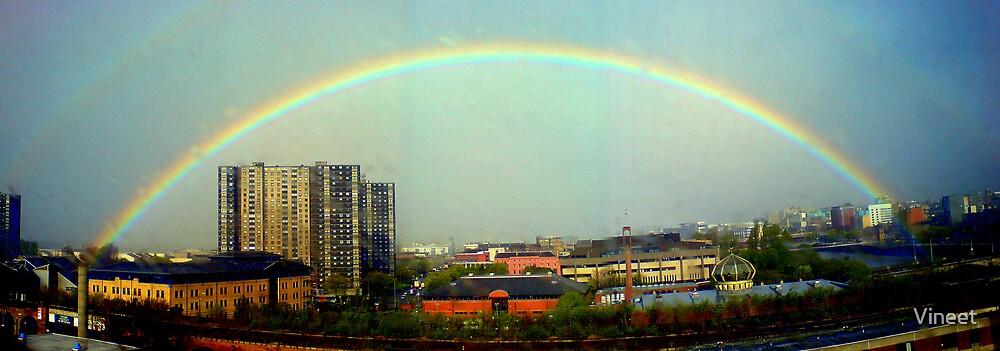rainbow by Vineet
