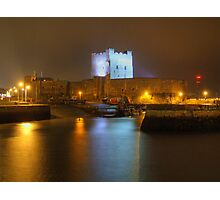 Carrickfergus Castle And Harbour Photographic Print