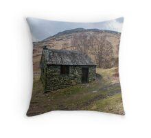 Ashness Bridge Shelter Throw Pillow