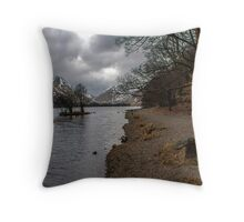 Brothers Water Shoreline Throw Pillow
