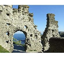 Tintagel Castle, Cornwall Photographic Print
