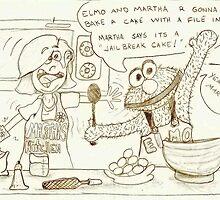 """Martha and Elmo"" by Jellohop"