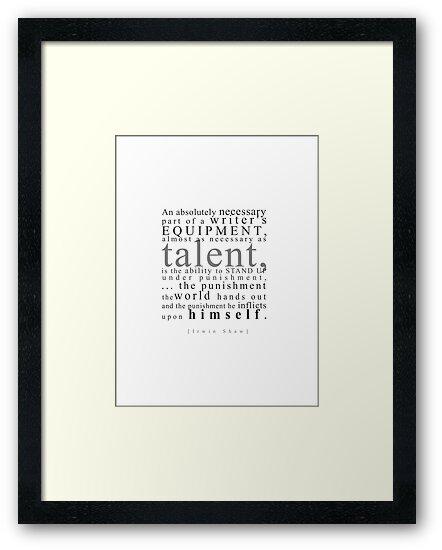 Writer's Talent by jegustavsen