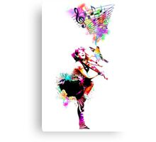 A Bird And The Violinist Metal Print
