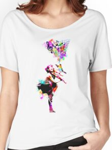A Bird And The Violinist Women's Relaxed Fit T-Shirt