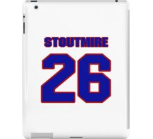 National football player Omar Stoutmire jersey 26 iPad Case/Skin