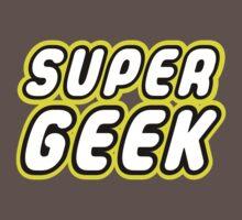 SUPER GEEK Baby Tee