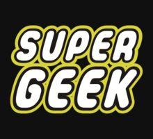 SUPER GEEK Kids Tee
