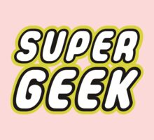 SUPER GEEK One Piece - Long Sleeve