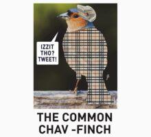 CHAV-FINCH T-SHIRT by mjfouldes